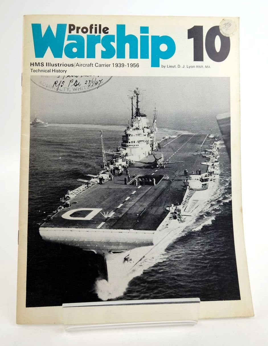 Photo of PROFILE WARSHIP 10: HMS ILLUSTRIOUS/AIRCRAFT CARRIER 1939-1956 TECHNICAL HISTORY- Stock Number: 1820329