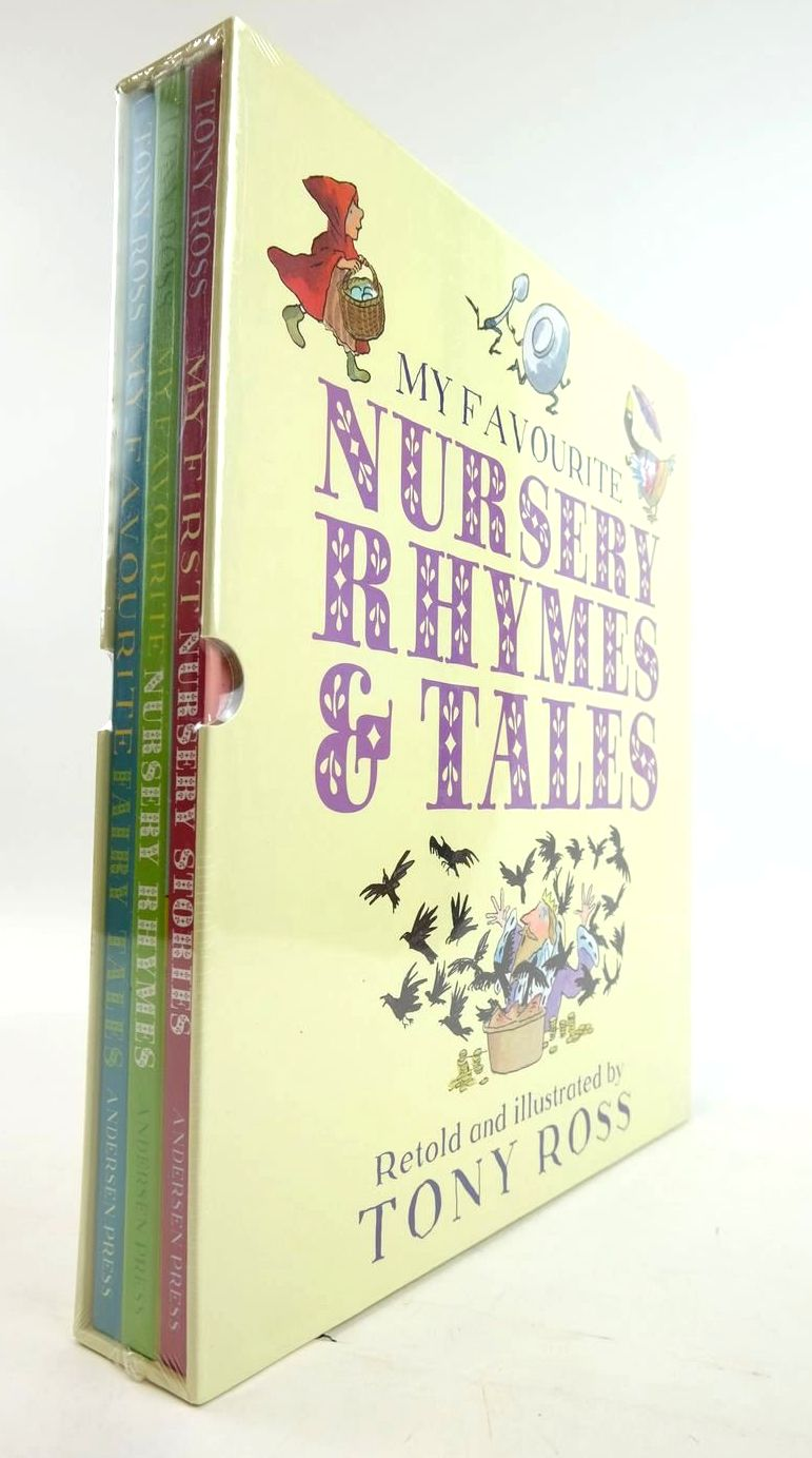 Photo of MY FAVOURITE NURSERY RHYMES & TALES (3 VOLUMES) written by Ross, Tony illustrated by Ross, Tony published by Reader's Digest (STOCK CODE: 1820347)  for sale by Stella & Rose's Books