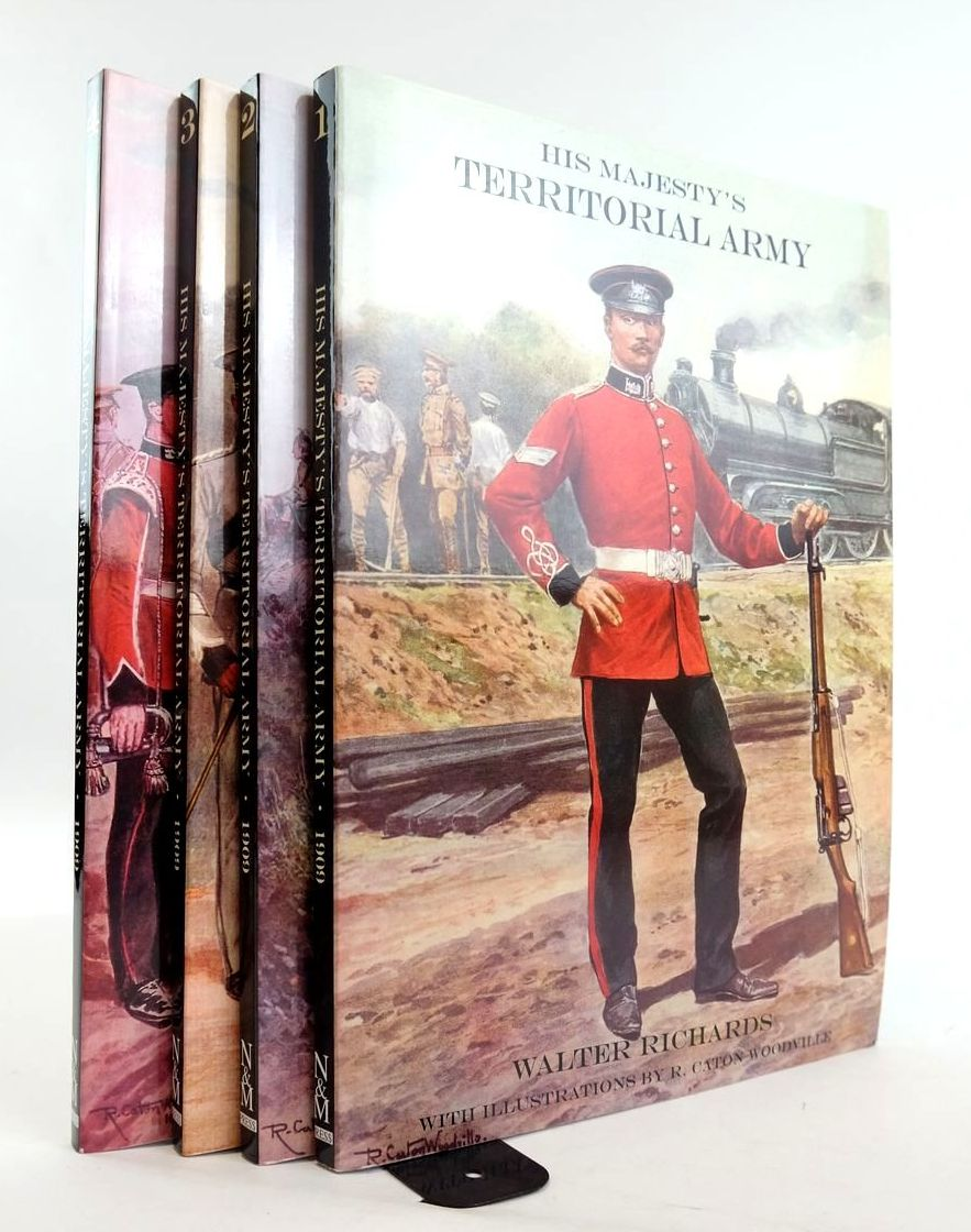 Photo of HIS MAJESTY'S TERRITORIAL ARMY (4 VOLUMES)- Stock Number: 1820355