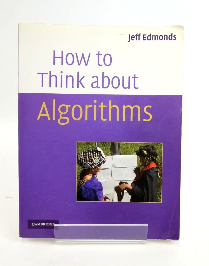 Photo of HOW TO THINK ABOUT ALGORITHMS- Stock Number: 1820363