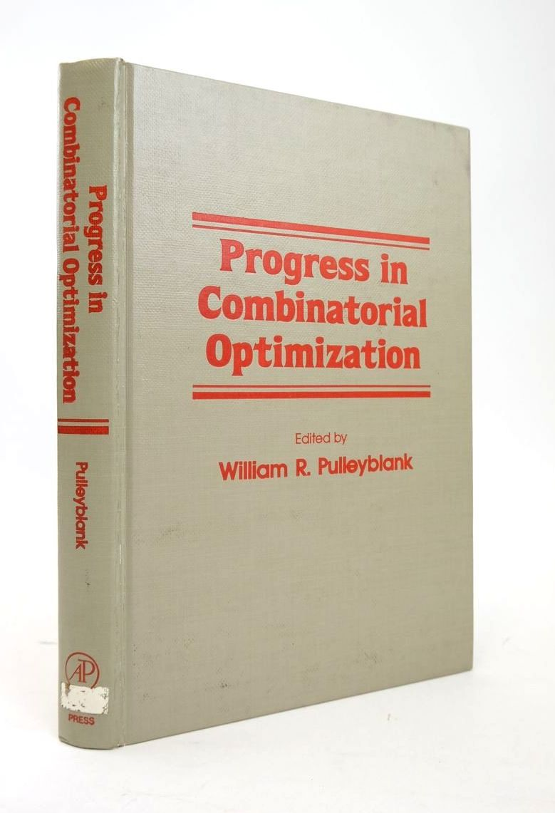 Photo of PROGRESS IN COMBINATORIAL OPTIMIZATION written by Pulleyblank, William R. published by Academic Press (STOCK CODE: 1820366)  for sale by Stella & Rose's Books