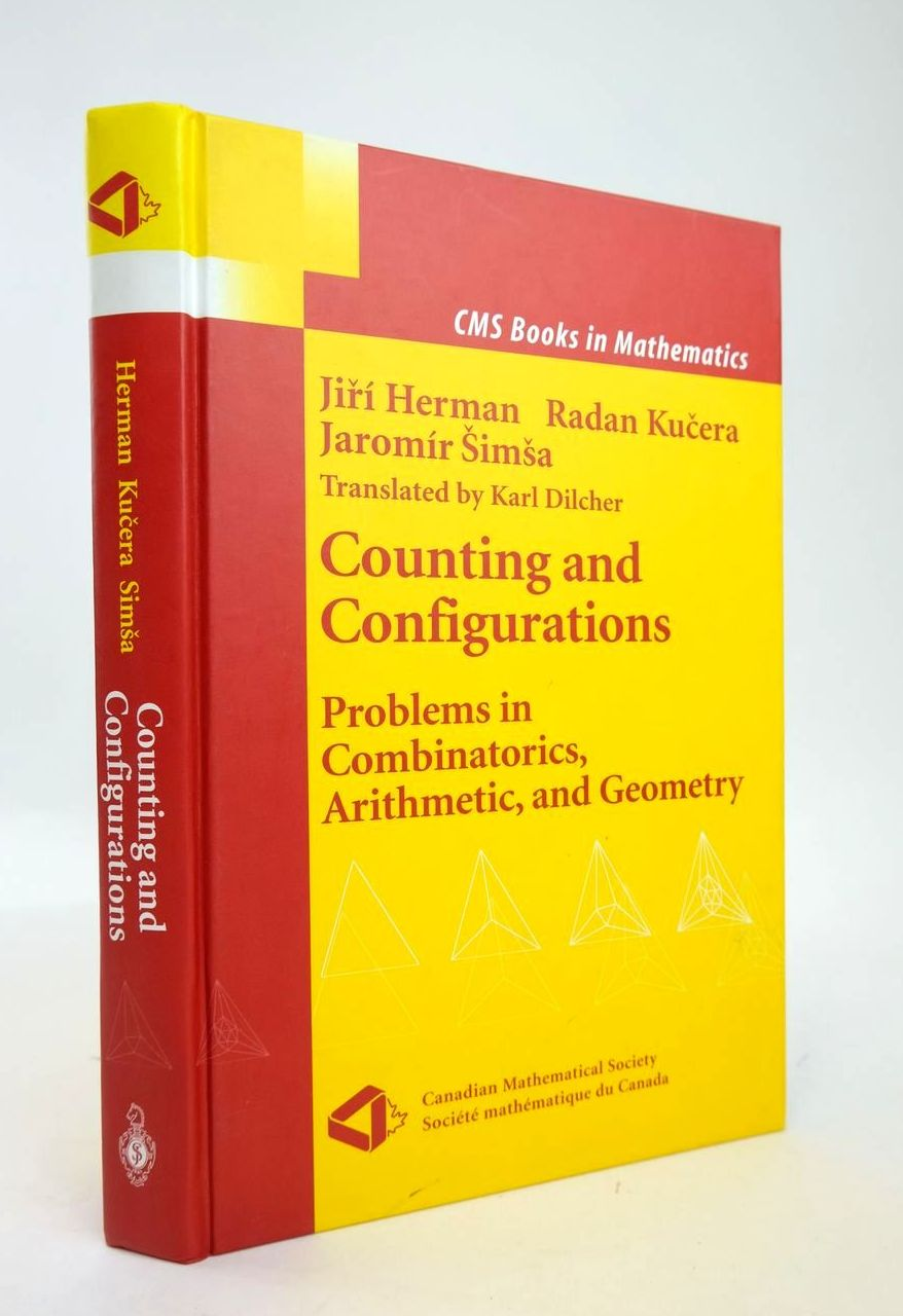 Photo of COUNTING AND CONFIGURATIONS: PROBLEMS IN COMBINATORICS, ARITHMETIC, AND GEOMETRY written by Herman, Jiri Kucera, Radan Simsa, Jaromir published by Springer (STOCK CODE: 1820370)  for sale by Stella & Rose's Books