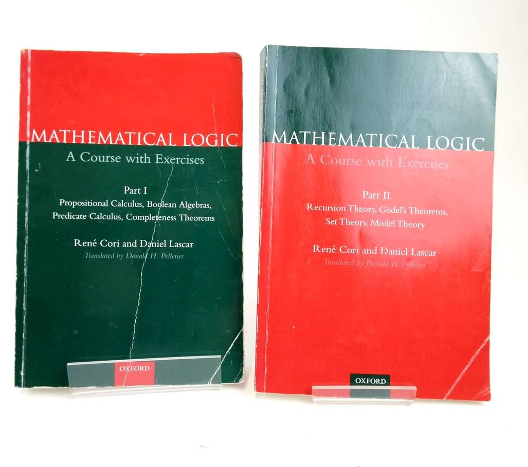 Photo of MATHEMATICAL LOGIC: A COURSE WITH EXCERCISES (2 VOLUMES)- Stock Number: 1820375