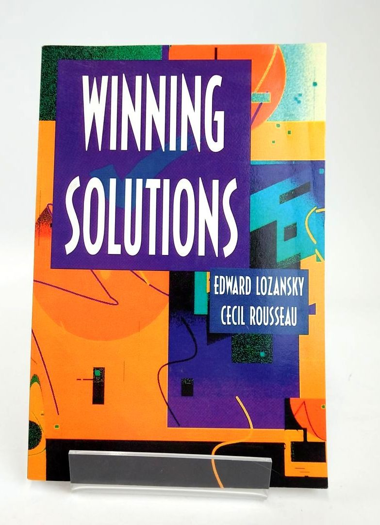 Photo of WINNING SOLUTIONS (PROBLEM BOOKS IN MATHEMATICS) written by Lozansky, Edward Rousseau, Cecil published by Springer (STOCK CODE: 1820376)  for sale by Stella & Rose's Books