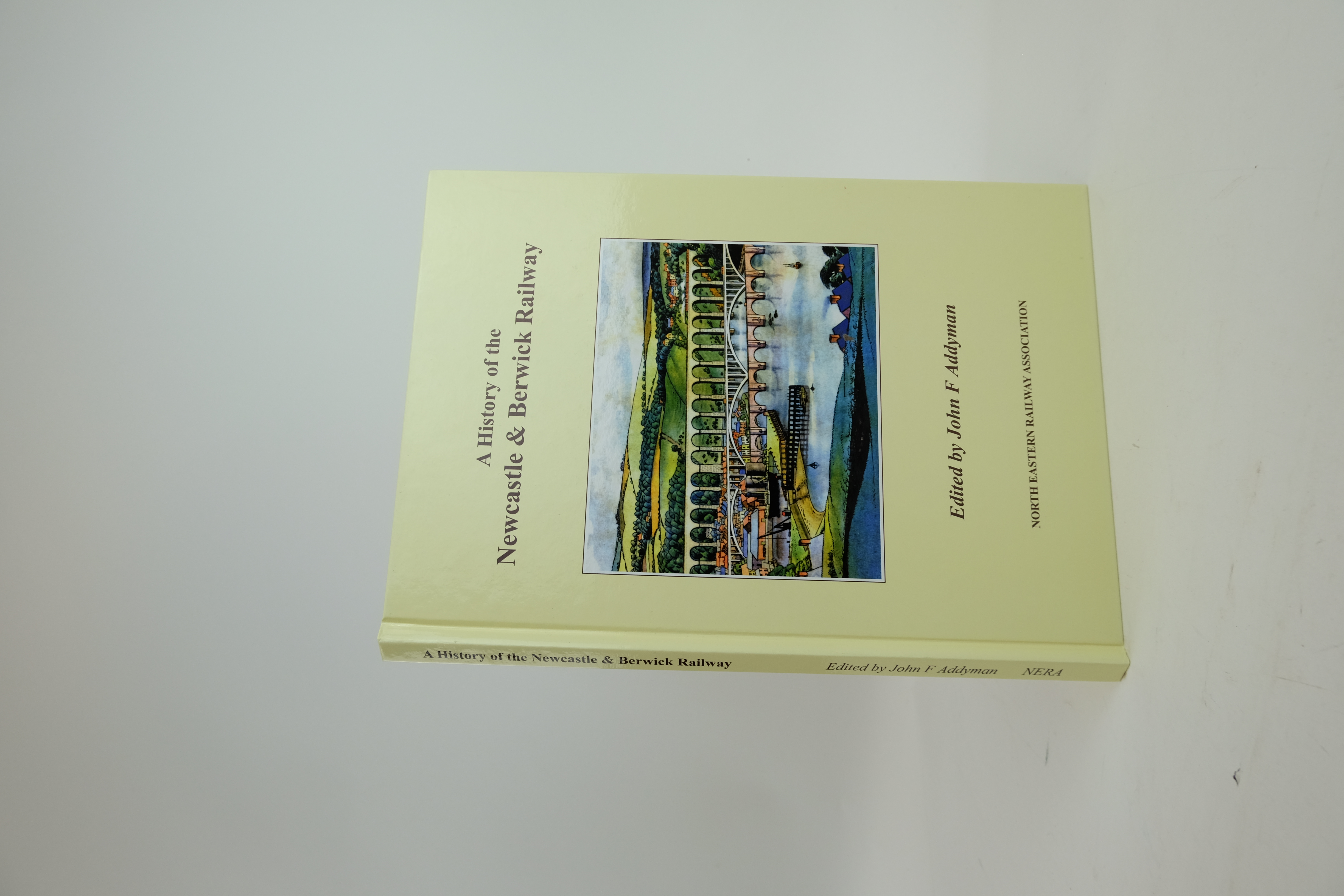 Photo of A HISTORY OF THE NEWCASTLE & BERWICK RAILWAY- Stock Number: 1820385