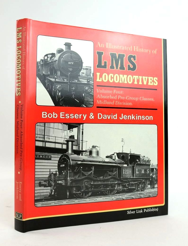 Photo of AN ILLUSTRATED HISTORY OF LMS LOCOMOTIVES VOLUME FOUR written by Essery, Bob Jenkinson, David published by Silver Link Publishing (STOCK CODE: 1820387)  for sale by Stella & Rose's Books