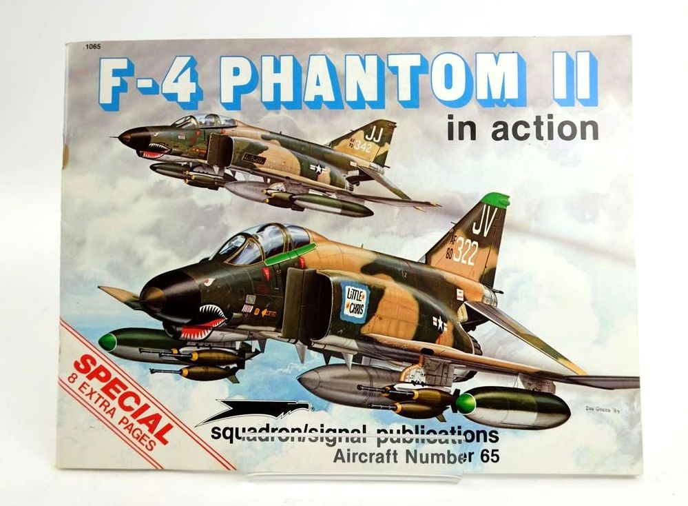 Photo of F-4 PHANTOM II IN ACTION (AIRCRAFT NUMBER 65) written by Davis, Larry illustrated by Greer, Don Wornkey, Kevin published by Squadron Signal Publications (STOCK CODE: 1820400)  for sale by Stella & Rose's Books