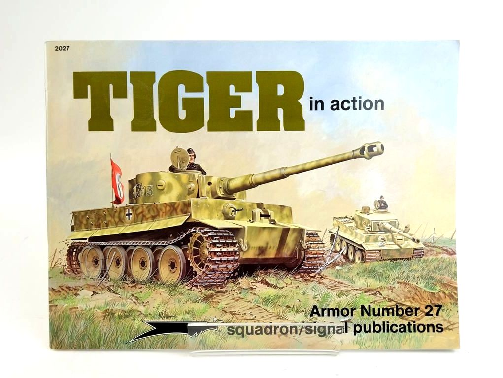 Photo of TIGER IN ACTION (ARMOR NUMBER 27) written by Culver, Bruce illustrated by Greer, Don