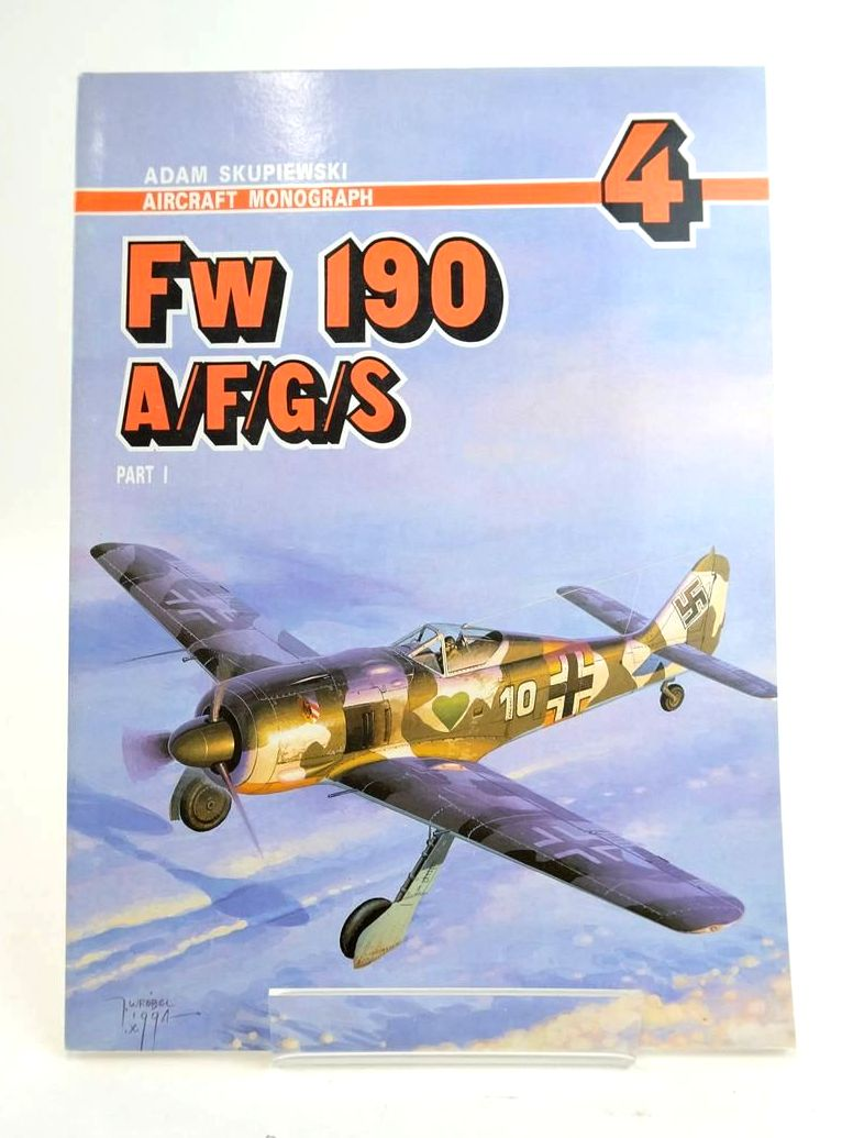 Photo of FW 190 A/F/G/S PART 1 (AIRCRAFT MONOGRAPH 4)- Stock Number: 1820408