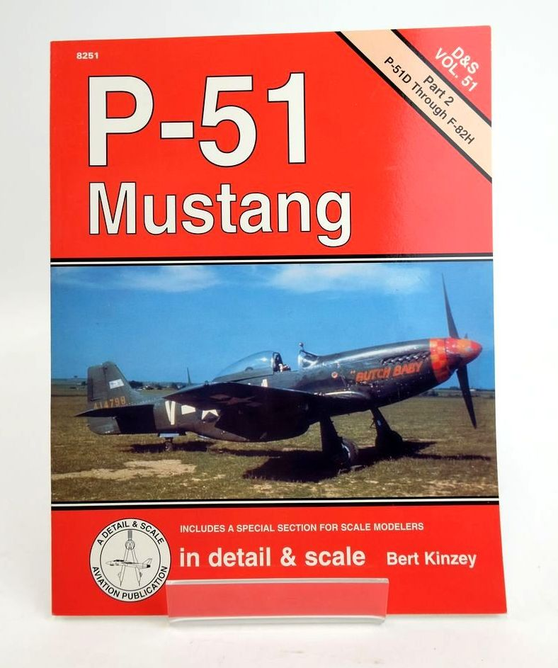 Photo of P-51 MUSTANG IN DETAIL & SCALE written by Kinzey, Bert published by Squadron Signal Publications (STOCK CODE: 1820412)  for sale by Stella & Rose's Books