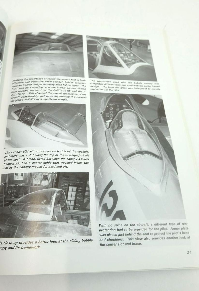 Photo of P-47 THUNDERBOLT IN DETAIL & SCALE written by Kinzey, Bert published by Squadron Signal Publications (STOCK CODE: 1820424)  for sale by Stella & Rose's Books