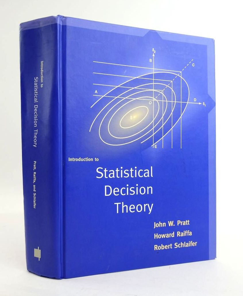Photo of INTRODUCTION TO STATISTICAL DECISION THEORY- Stock Number: 1820431