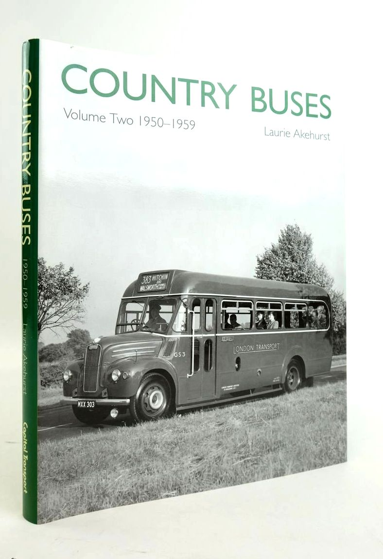 Photo of COUNTRY BUSES VOLUME TWO 1950-1959 written by Akehurst, Laurie published by Capital Transport (STOCK CODE: 1820446)  for sale by Stella & Rose's Books