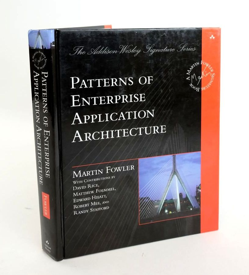 Photo of PATTERNS OF ENTERPRISE APPLICATION ARCHITECTURE- Stock Number: 1820448