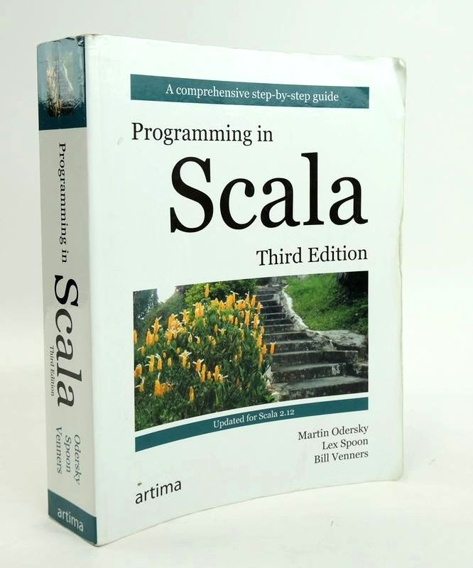 Photo of PROGRAMMING IN SCALA written by Odersky, Martin