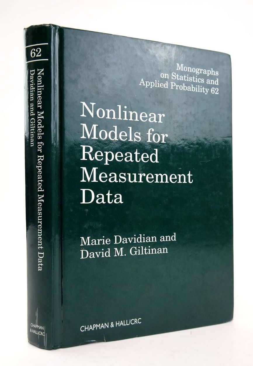 Photo of NONLINEAR MODELS FOR REPEATED MEASUREMENT DATA written by Davidian, Marie Giltinan, David M. published by Warne (STOCK CODE: 1820456)  for sale by Stella & Rose's Books