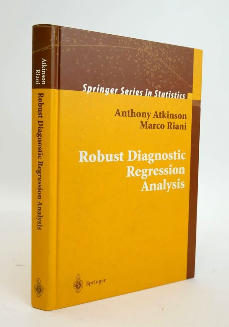 Photo of ROBUST DIAGNOSTIC REGRESSION ANALYSIS written by Atkinson, Anthony