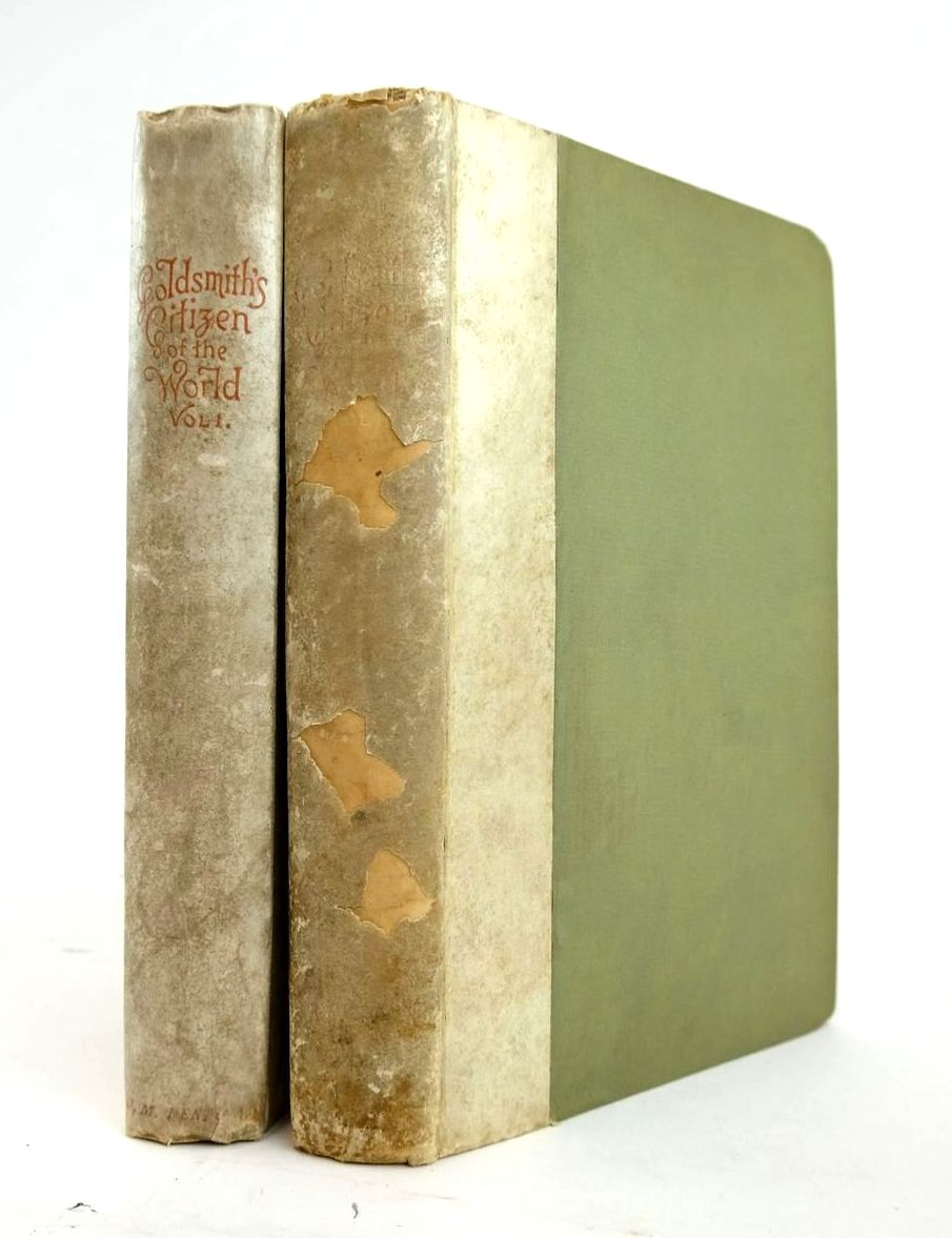 Photo of THE CITIZEN OF THE WORLD (2 VOLUMES) written by Goldsmith, Oliver Dobson, Austin illustrated by Railton, Mrs. Herbert published by J.M. Dent & Co. (STOCK CODE: 1820468)  for sale by Stella & Rose's Books
