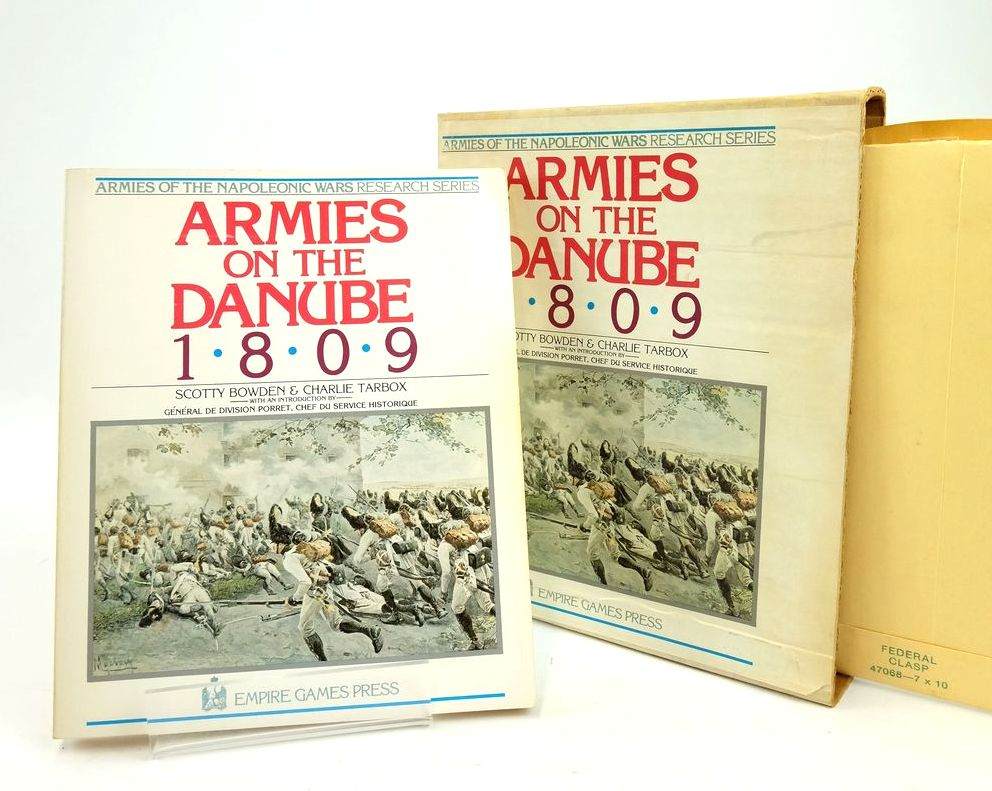Photo of ARMIES ON THE DANUBE 1809 written by Bowden, Scotty Tarbox, Charlie published by Empire Games Press (STOCK CODE: 1820489)  for sale by Stella & Rose's Books