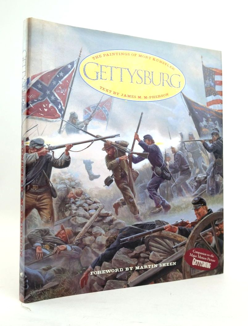 Photo of GETTYSBURG: THE PAINTINGS OF MORT KUNSTLER written by McPherson, James M. published by Turner Publishing, Inc. (STOCK CODE: 1820495)  for sale by Stella & Rose's Books