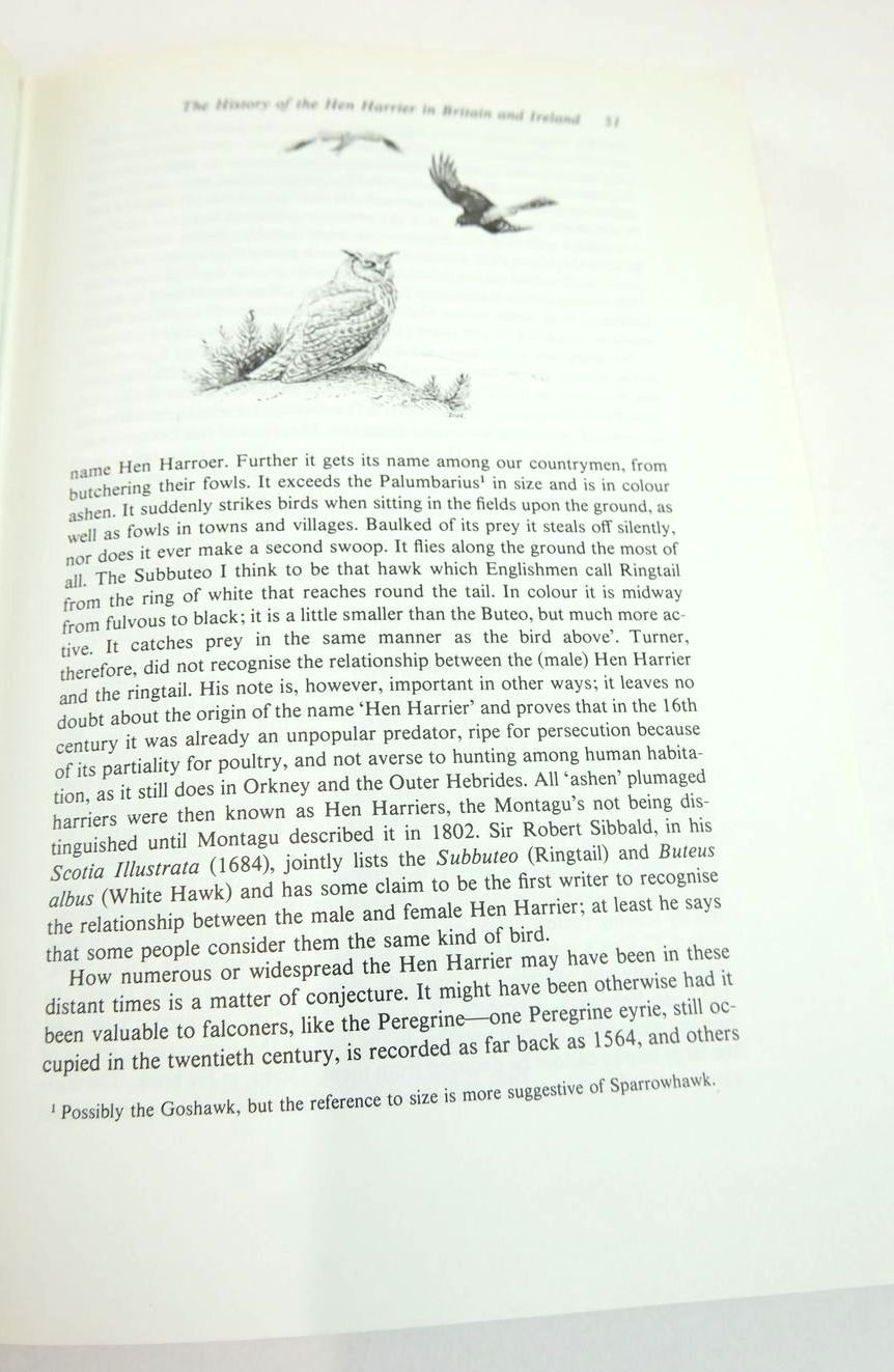 Photo of THE HEN HARRIER written by Watson, Donald illustrated by Watson, Donald published by T. & A.D. Poyser (STOCK CODE: 1820532)  for sale by Stella & Rose's Books