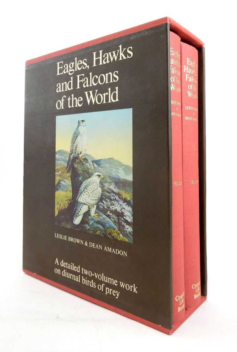 Photo of EAGLES, HAWKS AND FALCONS OF THE WORLD (2 VOLUMES) written by Brown, Leslie H. Amadon, Dean illustrated by Peterson, Roger Tory et al.,  published by Country Life (STOCK CODE: 1820533)  for sale by Stella & Rose's Books