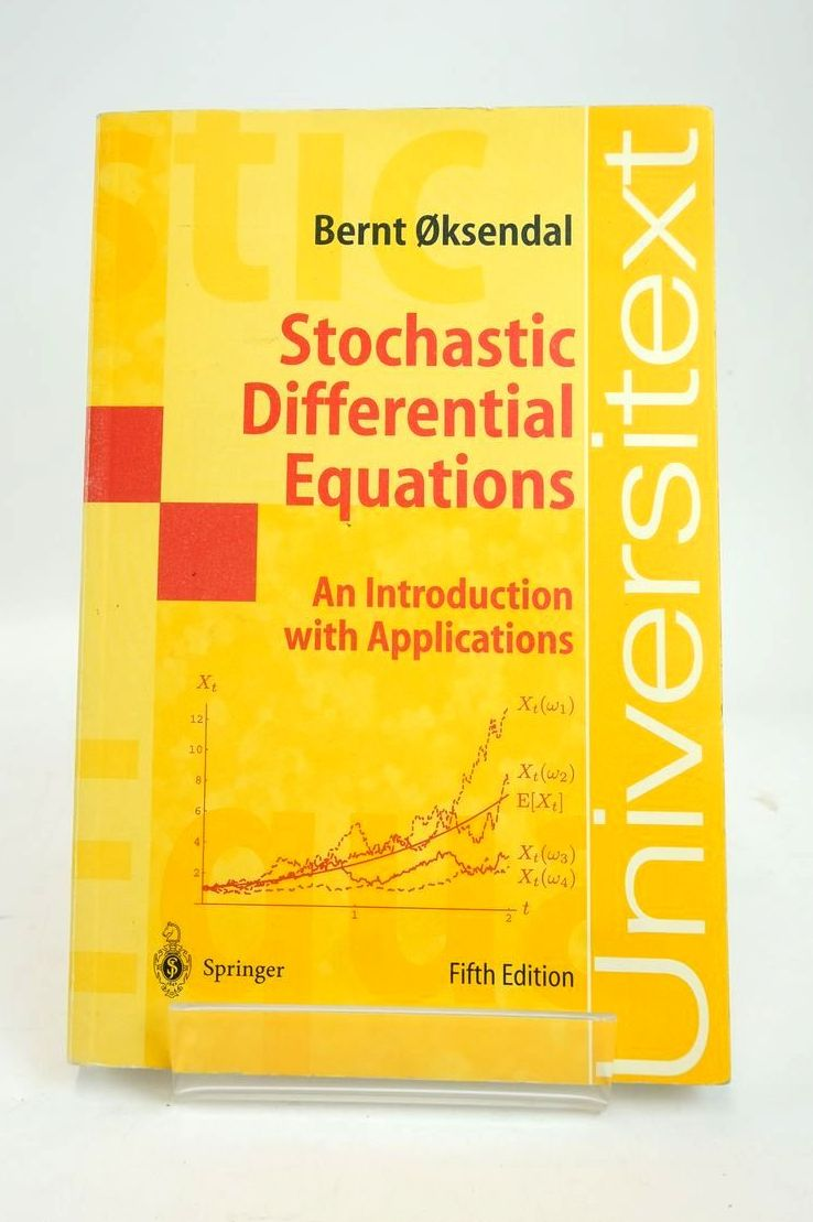 Photo of STOCHASTIC DIFFERENTIAL EQUATIONS: AN INTRODUCTION WITH APPLICATIONS- Stock Number: 1820553