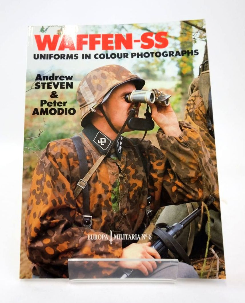 Photo of WAFFEN-SS UNIFORMS IN COLOUR PHOTOGRAPHS (EUROPA MILITARIA NO 6)- Stock Number: 1820567