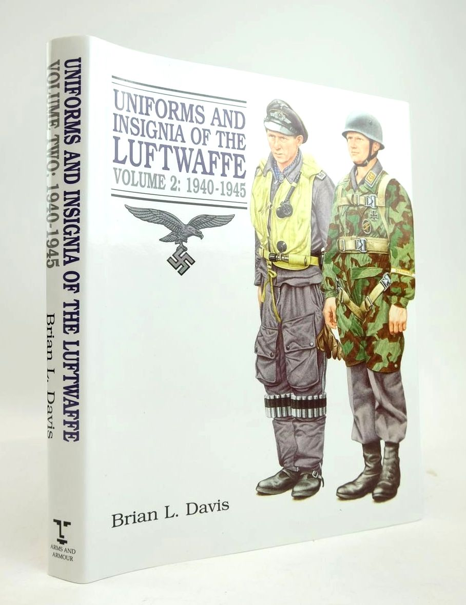 Photo of UNIFORMS AND INSIGNIA OF THE LUFTWAFFE VOLUME 2: 1940-1945 written by Davis, Brian L. published by Arms & Armour Press (STOCK CODE: 1820576)  for sale by Stella & Rose's Books