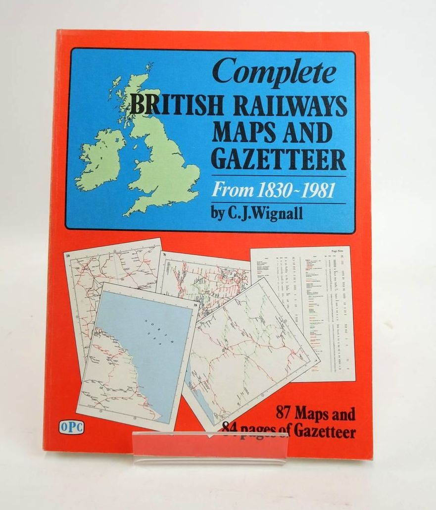Photo of COMPLETE BRITISH RAILWAYS MAPS AND GAZETEER FROM 1830-1981- Stock Number: 1820597