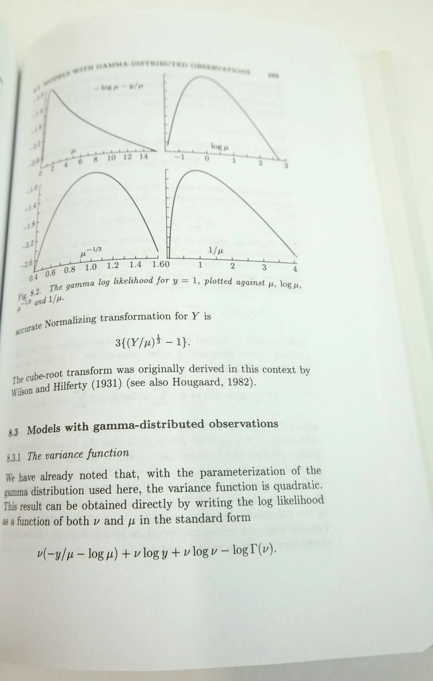 Photo of GENERALIZED LINEAR MODELS written by Mccullagh, P.