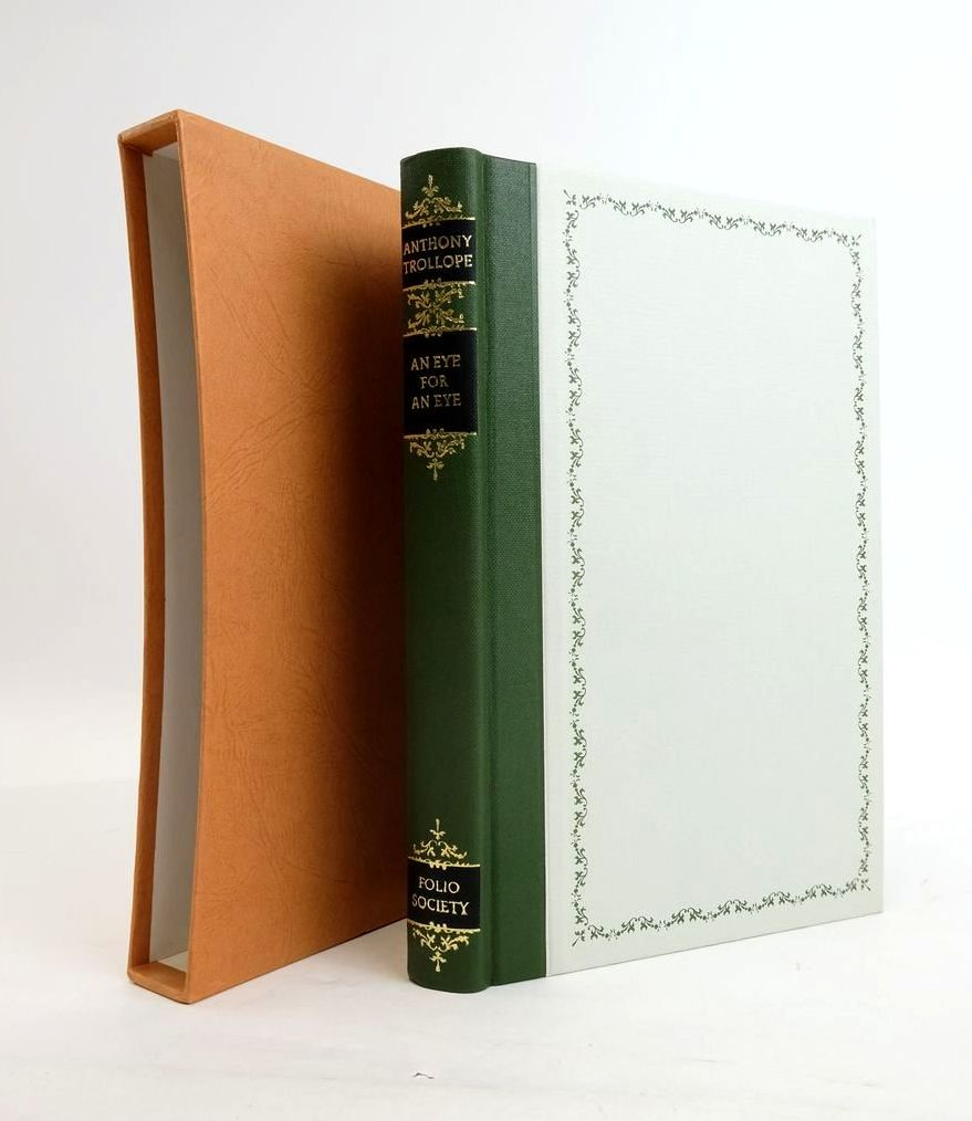 Photo of AN EYE FOR AN EYE written by Trollope, Anthony illustrated by Trimby, Elisa published by Folio Society (STOCK CODE: 1820644)  for sale by Stella & Rose's Books