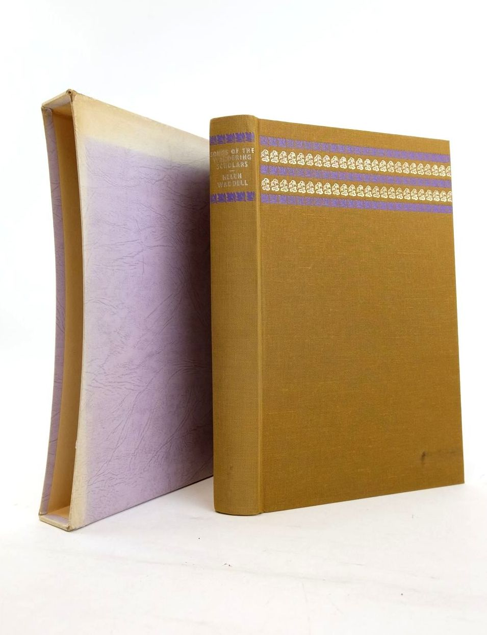 Photo of SONGS OF THE WANDERING SCHOLARS written by Waddell, Helen Corrigan, Dame F. illustrated by Freeman, Joan published by Folio Society (STOCK CODE: 1820668)  for sale by Stella & Rose's Books