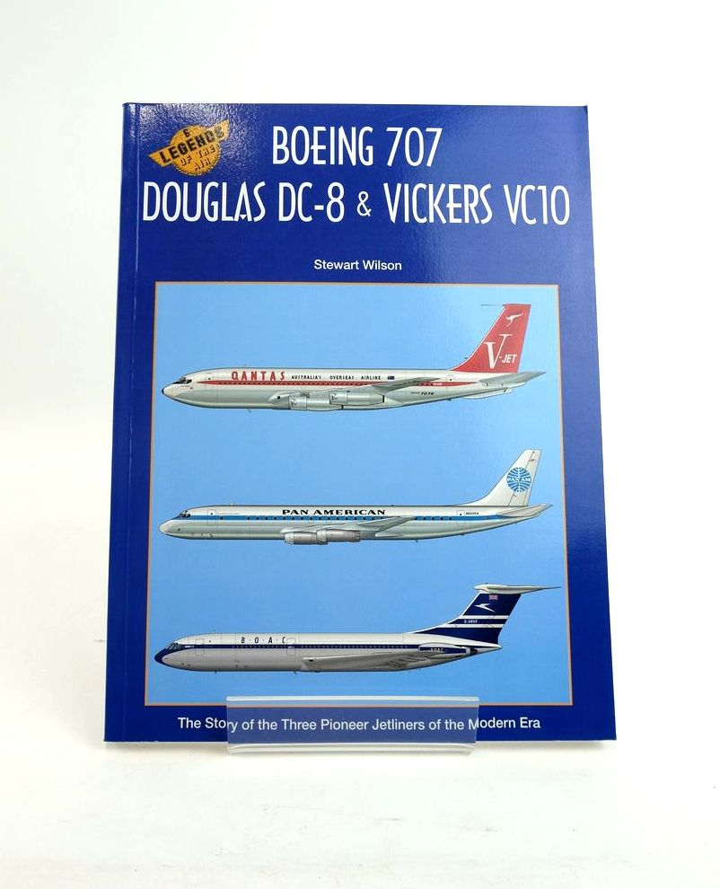 Photo of BOEING 707, DOUGLAS DC-8 & VICKERS VC10 (LEGENDS OF THE AIR 6) written by Wilson, Stewart illustrated by Franzi, Juanita Newton, Dennis published by Aerospace Publications Pty Limited (STOCK CODE: 1820738)  for sale by Stella & Rose's Books