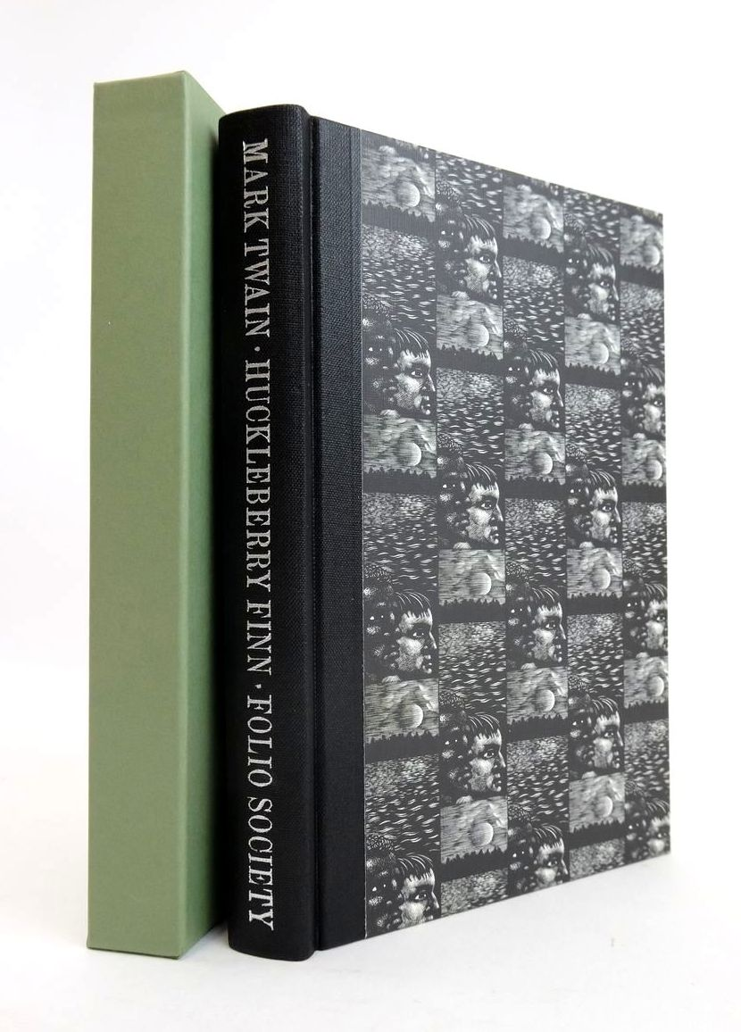 Photo of THE ADVENTURES OF HUCKLEBERRY FINN written by Twain, Mark Ward, Colin illustrated by Brockway, Harry published by Folio Society (STOCK CODE: 1820785)  for sale by Stella & Rose's Books