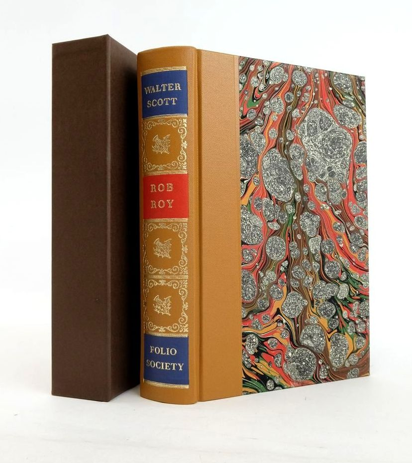 Photo of ROB ROY written by Scott, Walter Massie, Allan illustrated by Tute, George published by Folio Society (STOCK CODE: 1820821)  for sale by Stella & Rose's Books