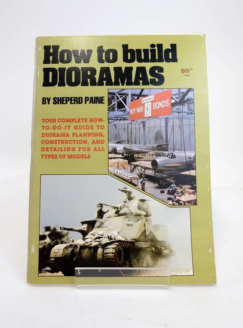 Photo of HOW TO BUILD DIORAMAS- Stock Number: 1820850