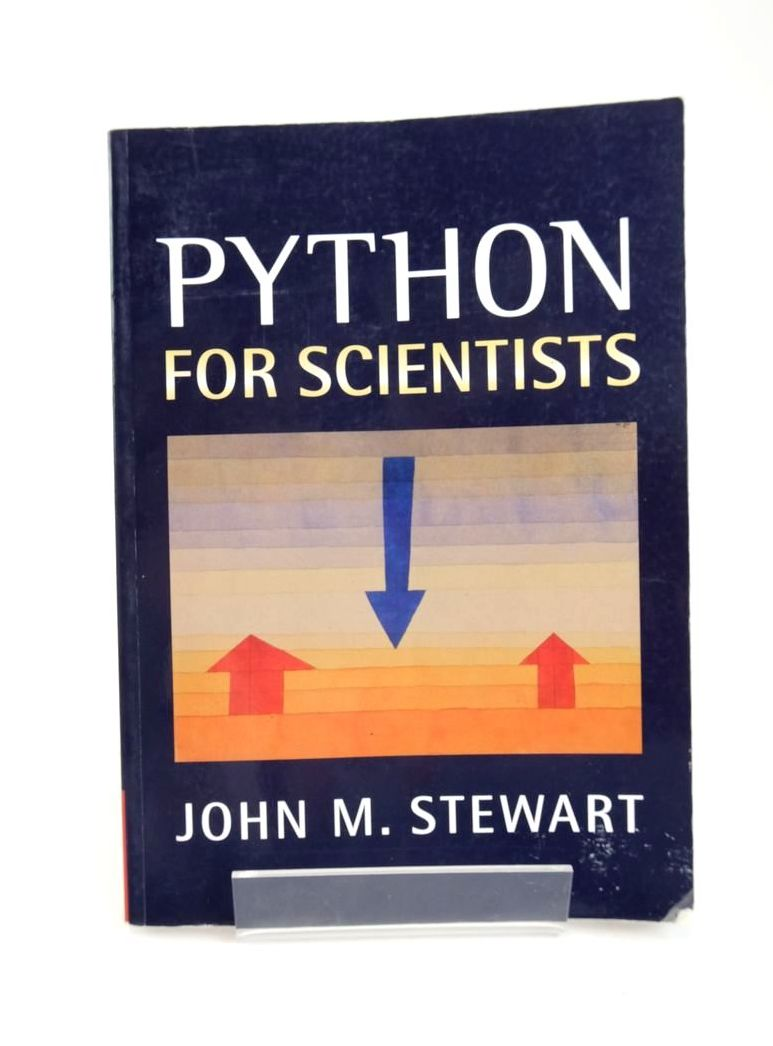 Photo of PYTHON FOR SCIENTISTS- Stock Number: 1820869