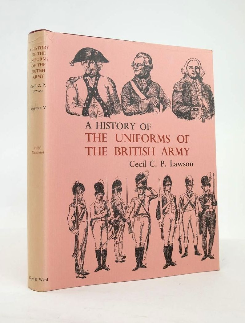 Photo of A HISTORY OF THE UNIFORMS OF THE BRITISH ARMY VOLUME V- Stock Number: 1820882