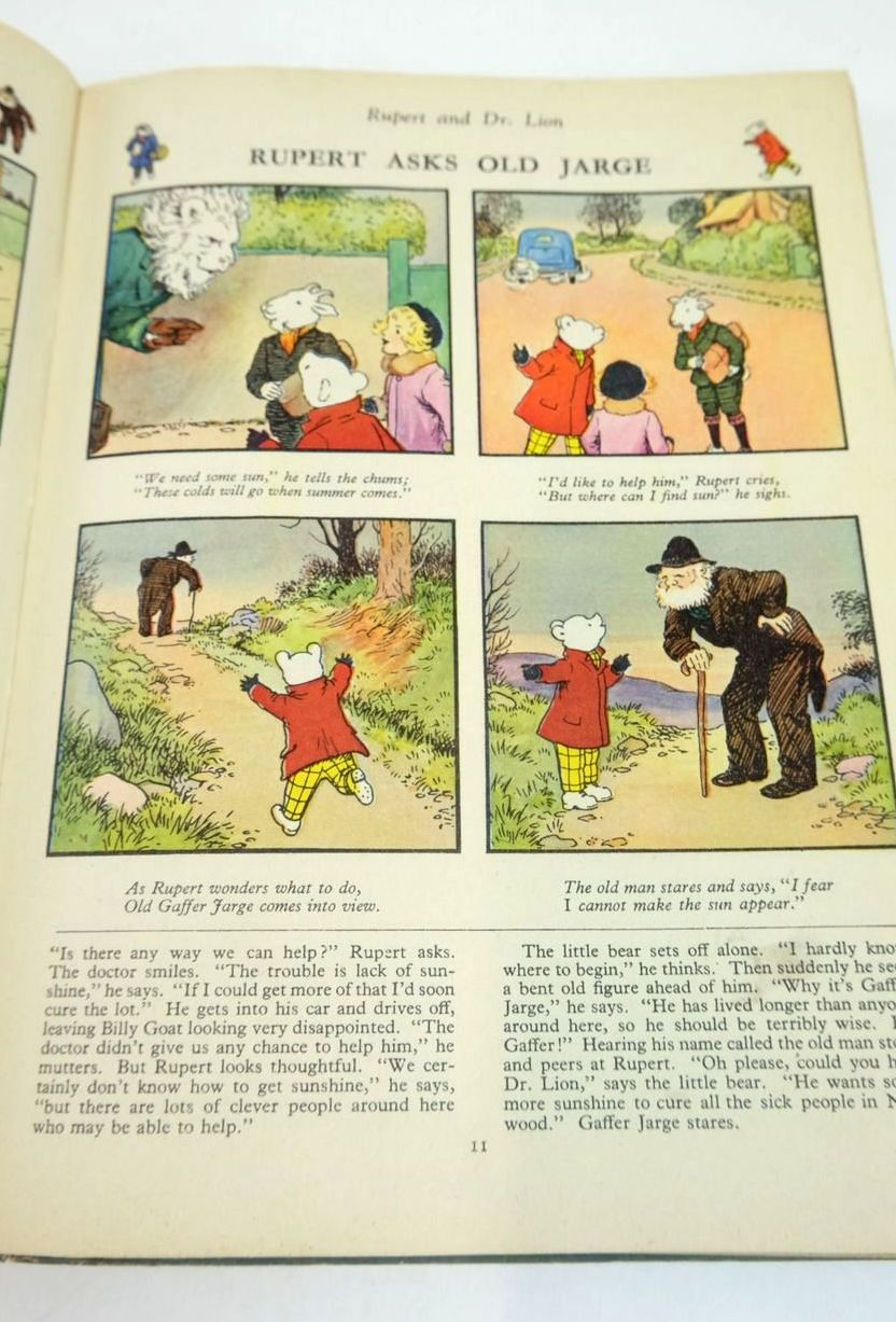 Photo of RUPERT ANNUAL 1951 - THE NEW RUPERT BOOK written by Bestall, Alfred illustrated by Bestall, Alfred published by Daily Express (STOCK CODE: 1820896)  for sale by Stella & Rose's Books