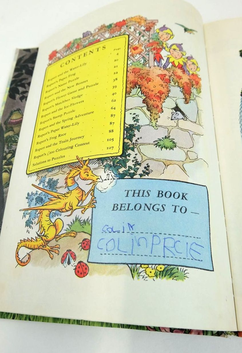 Photo of RUPERT ANNUAL 1958 written by Bestall, Alfred illustrated by Bestall, Alfred published by Daily Express (STOCK CODE: 1820897)  for sale by Stella & Rose's Books