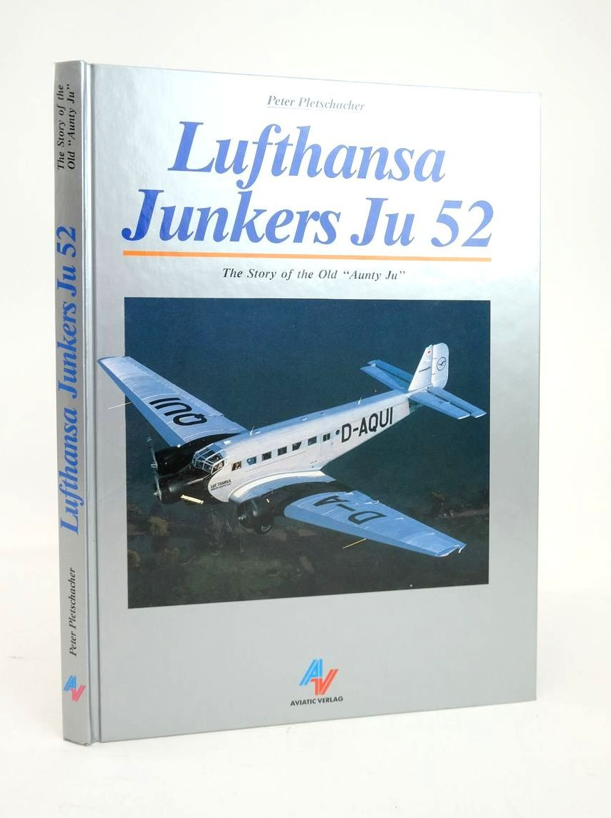 """Photo of LUFTHANSA JUNKERS JU 52: THE STORY OF THE OLD """"AUNTY JU""""- Stock Number: 1820922"""