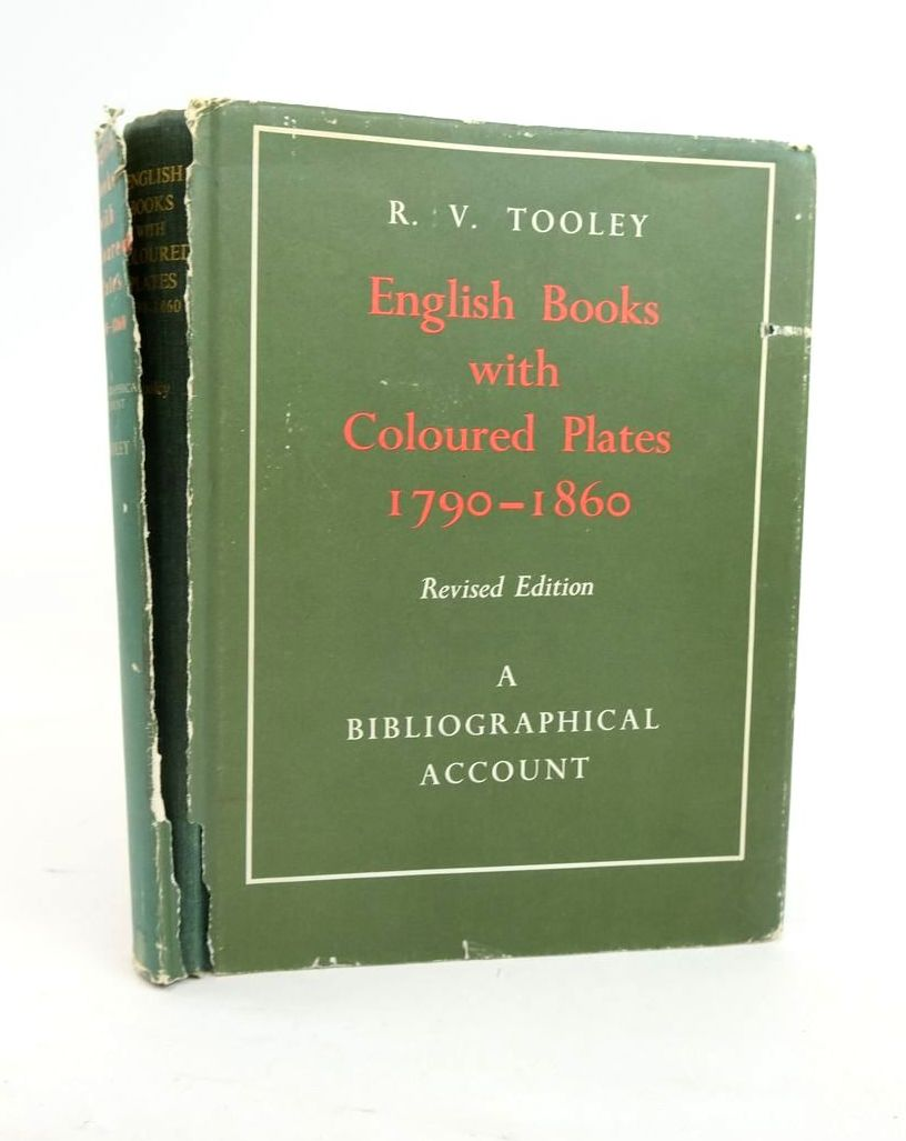 Photo of ENGLISH BOOKS WITH COLOURED PLATES 1790-1860 written by Tooley, R.V. published by Dawson (STOCK CODE: 1820959)  for sale by Stella & Rose's Books