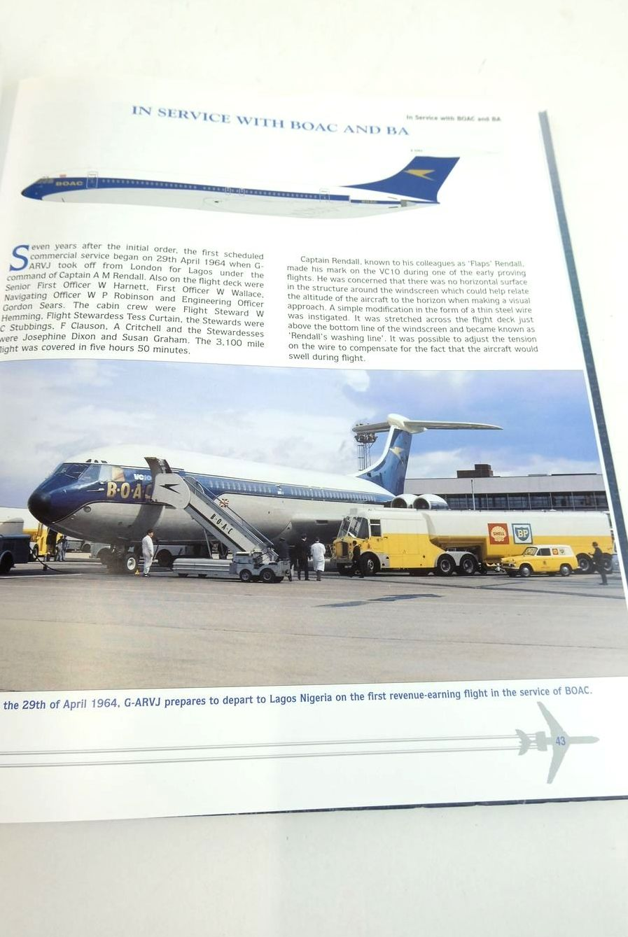 Photo of SILENT SWIFT SUPERB: THE STORY OF THE VICKERS VC10 written by Walker, Timothy Henderson, Scott published by Scoval Publishing Ltd (STOCK CODE: 1821020)  for sale by Stella & Rose's Books