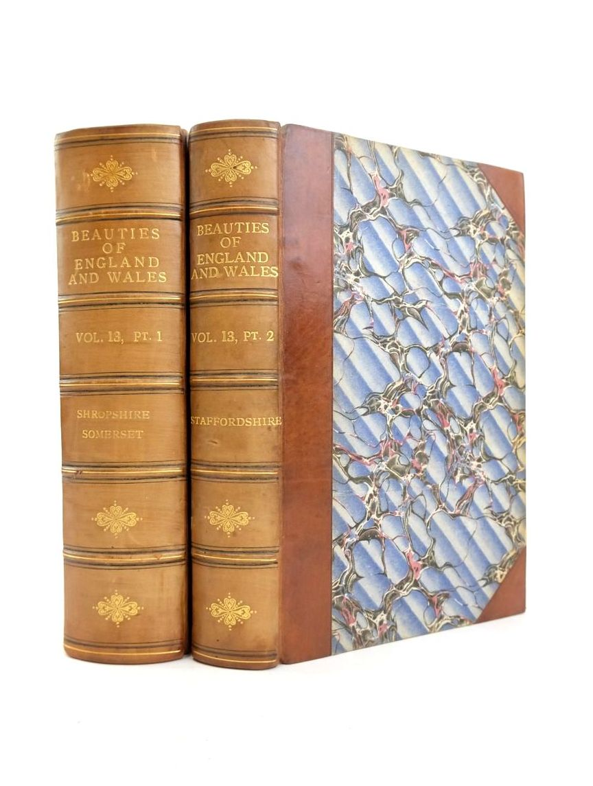 Photo of THE BEAUTIES OF ENGLAND AND WALES VOL. XIII PART I AND II- Stock Number: 1821028