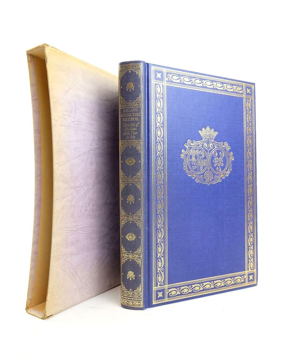Photo of ESCAPE FROM THE TERROR written by De La Tour Du Pin, Madame Harcourt, Felice published by Folio Society (STOCK CODE: 1821030)  for sale by Stella & Rose's Books