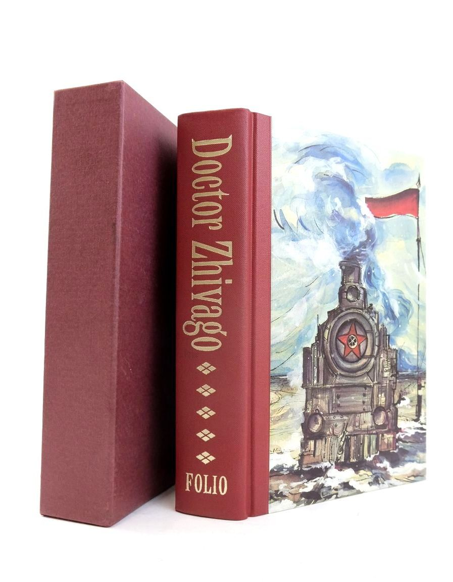 Photo of DOCTOR ZHIVAGO written by Pasternak, Boris illustrated by Bour, Veronique published by Folio Society (STOCK CODE: 1821037)  for sale by Stella & Rose's Books
