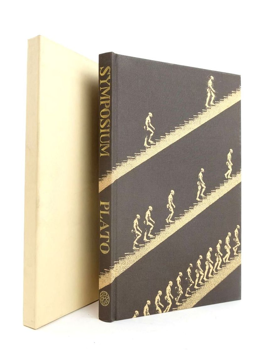 Photo of SYMPOSIUM written by Plato,  Quinton, Anthony illustrated by Phillips, Tom published by Folio Society (STOCK CODE: 1821048)  for sale by Stella & Rose's Books