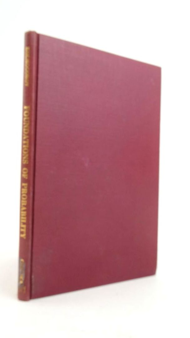 Photo of FOUNDATIONS OF THE THEORY OF PROBABILITY written by Kolmogorov, A.N. published by Chelsea Publishing Co. (STOCK CODE: 1821060)  for sale by Stella & Rose's Books
