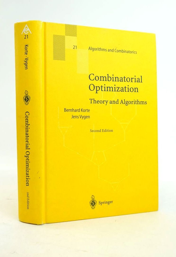 Photo of COMBINATORIAL OPTIMIZATION: THEORY AND ALGORITHMS- Stock Number: 1821063